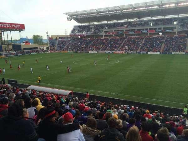 SeatGeek Stadium, sección: 126, fila: 20, asiento: 1