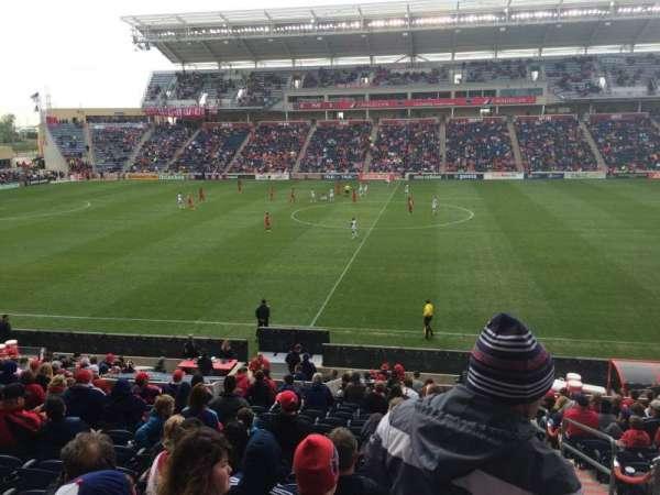 SeatGeek Stadium, sección: 128, fila: 20, asiento: 1