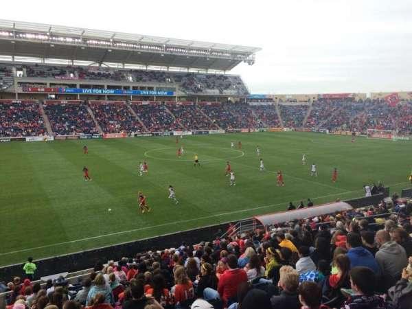 SeatGeek Stadium, sección: 130, fila: 20, asiento: 22