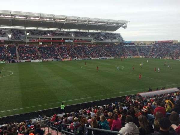 SeatGeek Stadium, sección: 131, fila: 20, asiento: 1