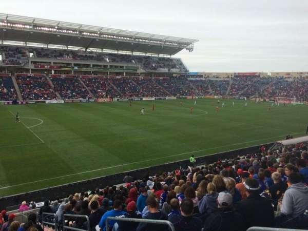 SeatGeek Stadium, sección: 132, fila: 20, asiento: 1