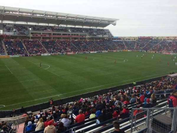 SeatGeek Stadium, sección: 132, fila: 25, asiento: 7