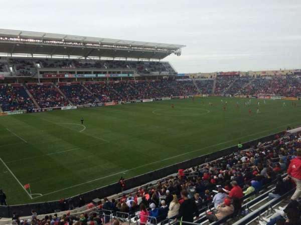 SeatGeek Stadium, sección: 133, fila: 25, asiento: 6