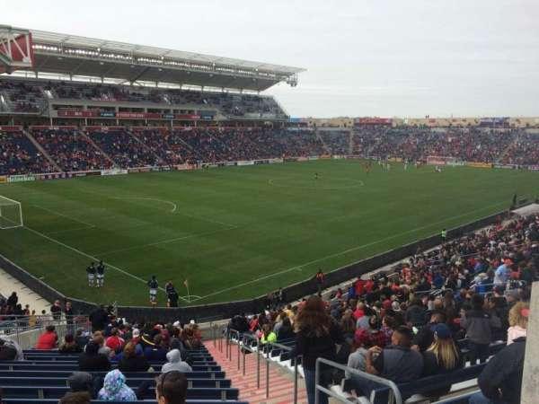 SeatGeek Stadium, sección: 134, fila: 27, asiento: 1