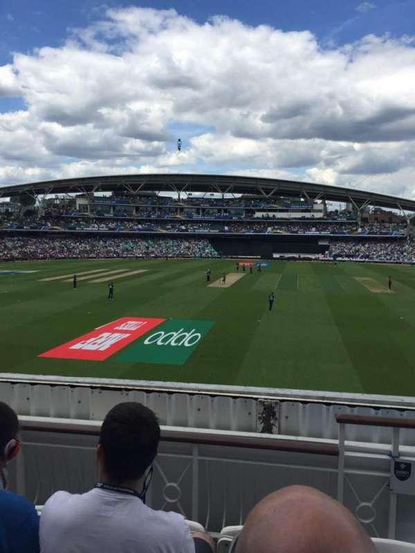 Kia Oval, sección: Pavilion Balcony, fila: D, asiento: 60