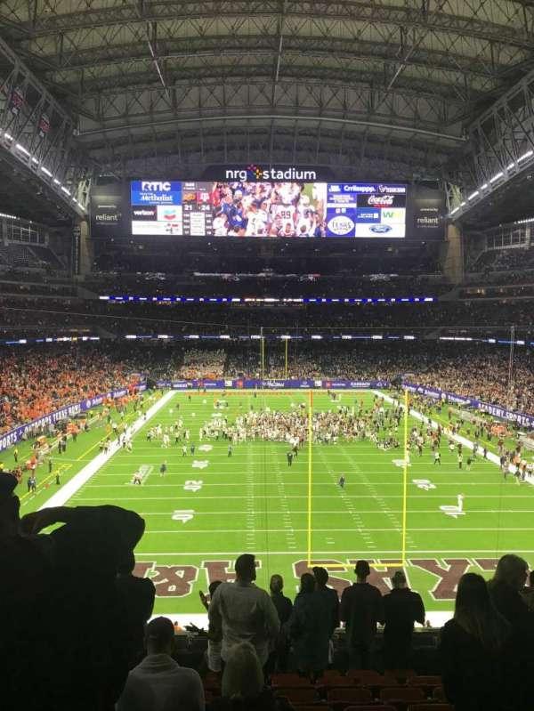 NRG Stadium, sección: 324, fila: J, asiento: 13
