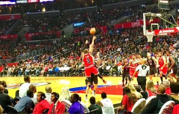 Staples Center, sección: 117, fila: 5, asiento: 17
