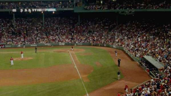 Fenway Park, sección: monster
