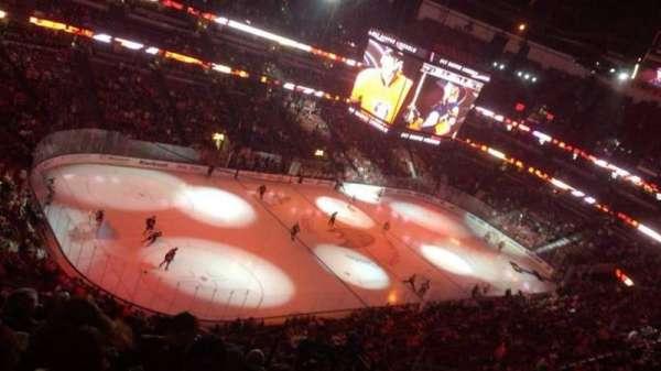 Honda Center, sección: 439, fila: M, asiento: 5