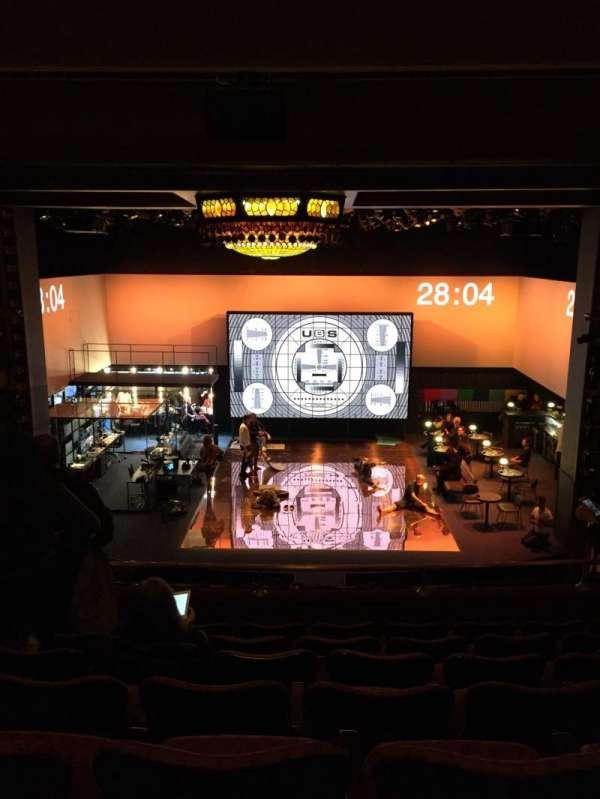 Belasco Theatre, sección: Mezzanine C, fila: G, asiento: 107
