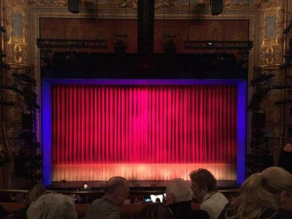 Longacre Theatre, sección: Mezzanine C, fila: D, asiento: 107