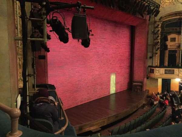 Shubert Theatre, sección: Mezzanine L, fila: B, asiento: 27