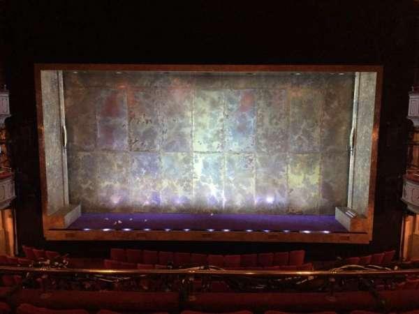 Cort Theatre, sección: Mezzanine C, fila: D, asiento: 107