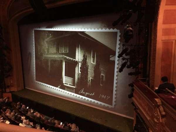 American Airlines Theatre, sección: Front Mezzanine, fila: A, asiento: 104