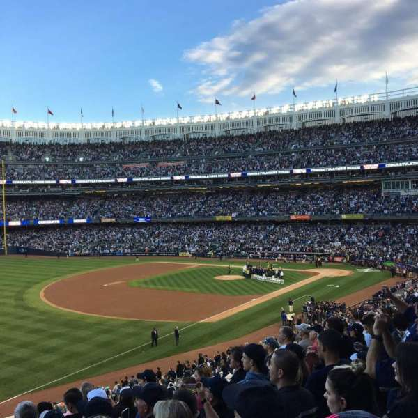 Yankee Stadium, sección: 229, fila: 8, asiento: 8