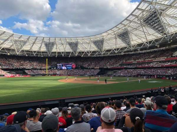 London Stadium, sección: 054, fila: 15