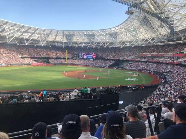 London Stadium, sección: 255, fila: 36, asiento: 719