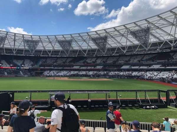 London Stadium, sección: 142, fila: 17, asiento: 123