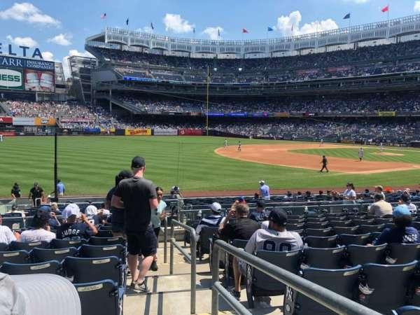 Yankee Stadium, sección: 129, fila: 21, asiento: 1