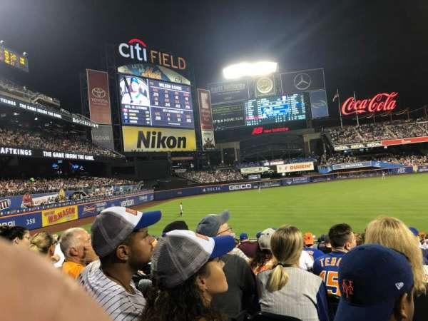 Citi Field, sección: 128, fila: 19, asiento: 14