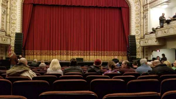 Palace Theatre (Greensburg), sección: ORCH C, fila: L, asiento: 7