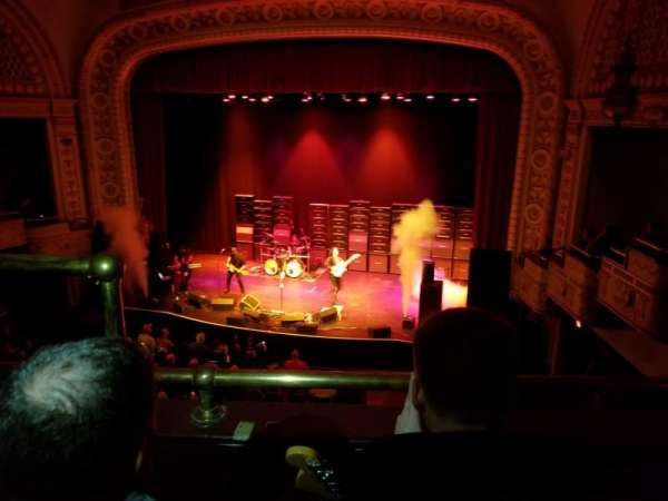 Palace Theatre (Greensburg), sección: LOGE Right, fila: BB, asiento: 8