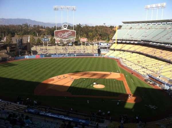 Dodger Stadium, sección: 11RS, fila: O, asiento: 6