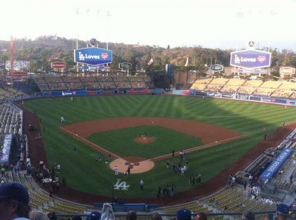 Dodger Stadium, sección: 2rs, fila: G, asiento: 7