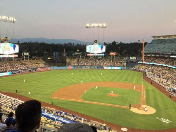 Dodger Stadium, sección: 9RS, fila: G, asiento: 9