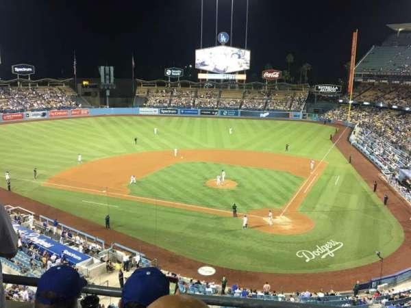 Dodger Stadium, sección: 7RS, fila: C, asiento: 6