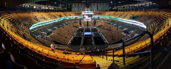 TD Garden, sección: BAL 324, fila: 15, asiento: 1