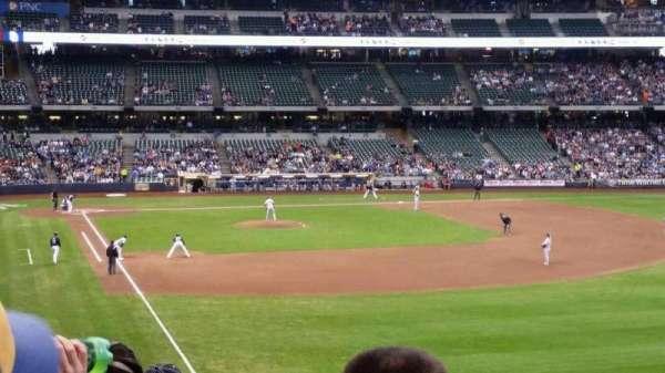 Miller Park, sección: 206, fila: 5, asiento: 14