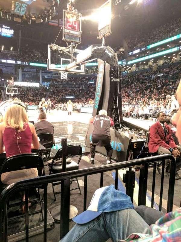 Barclays Center, sección: 16, fila: D, asiento: 7