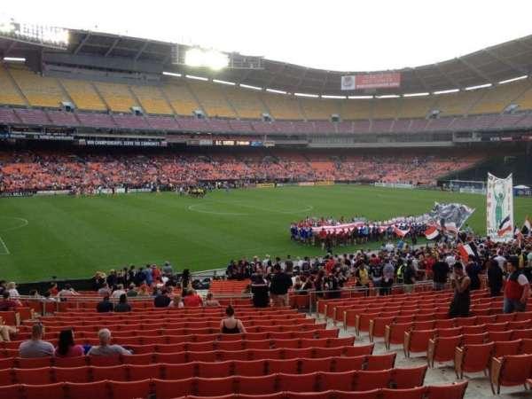 RFK Stadium, sección: 337, fila: 3, asiento: 7