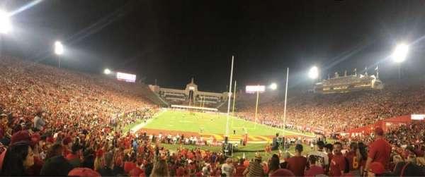 Los Angeles Memorial Coliseum, sección: 115, fila: 23, asiento: 13