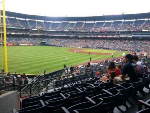 Turner Field, sección: 206, fila: 5, asiento: 2