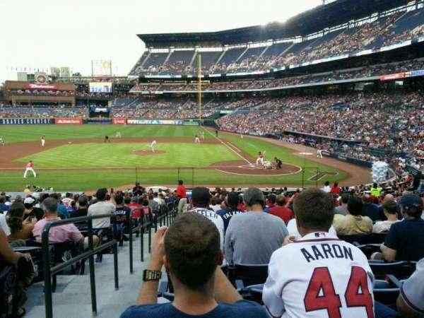 Turner Field, sección: 108R, fila: 26, asiento: 1