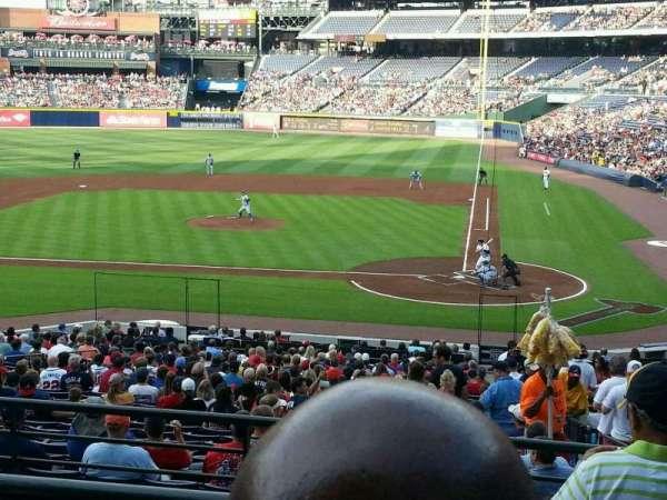 Turner Field, sección: 206L, fila: 2, asiento: 101