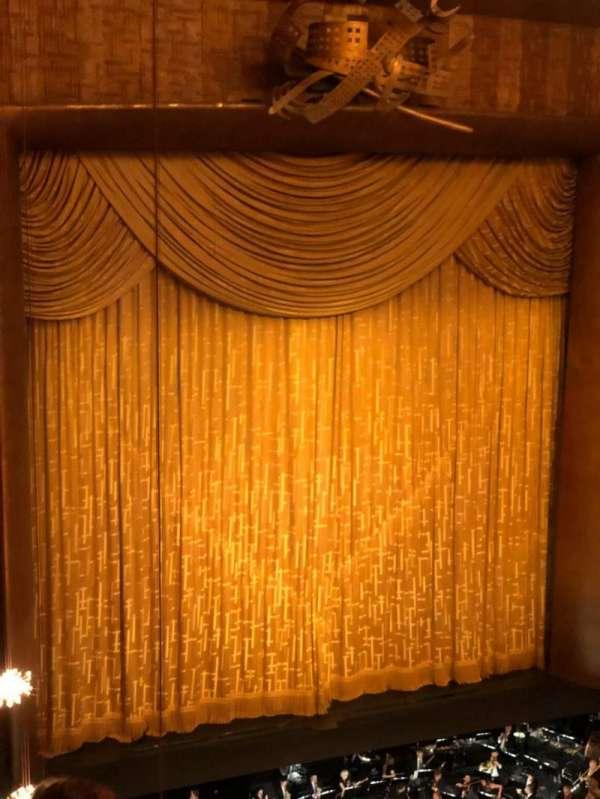 Metropolitan Opera House - Lincoln Center, sección: Balcony, fila: D, asiento: 25