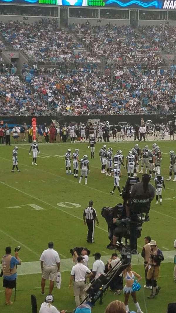 Bank of America Stadium, sección: 116, fila: 18, asiento: 13