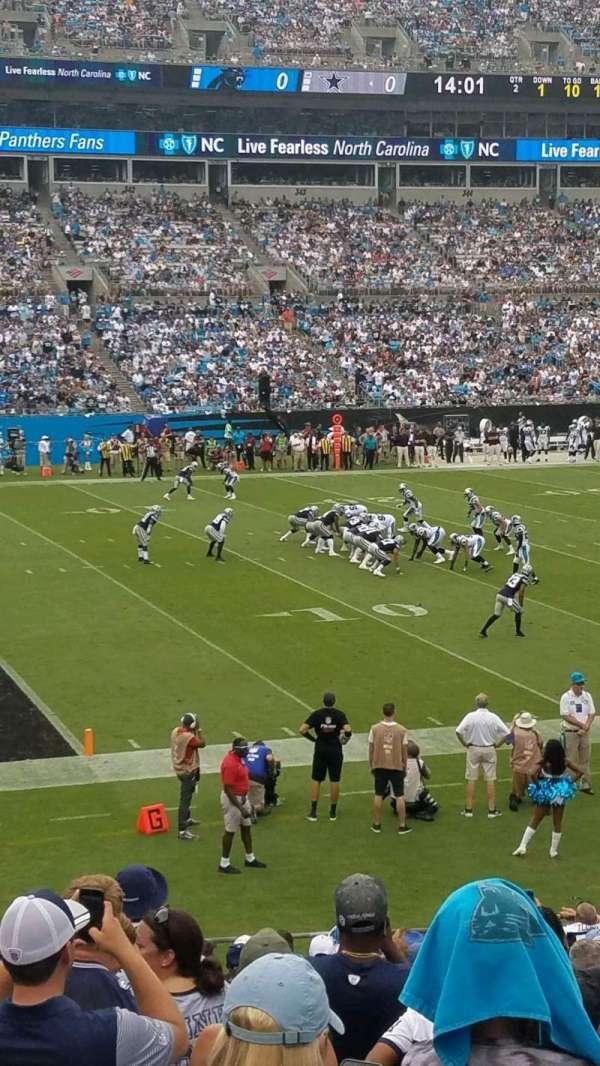 Bank of America Stadium, sección: 116, fila: 18, asiento: 14