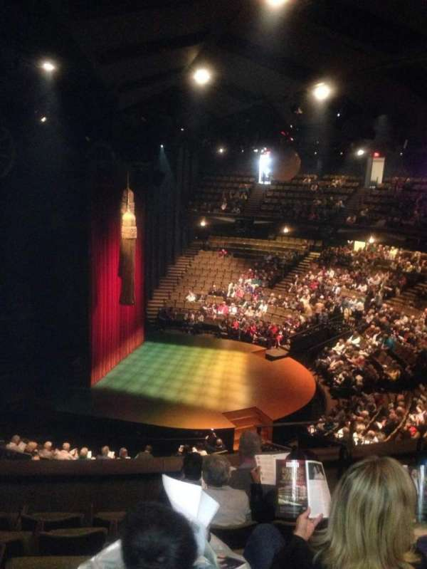 Stratford Festival, sección: Balcony aisle 2, fila: F, asiento: 166