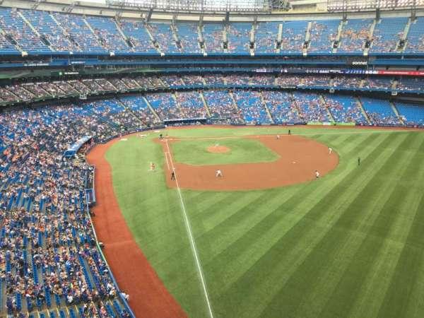 Rogers Centre, sección: 510R, fila: 1, asiento: 3