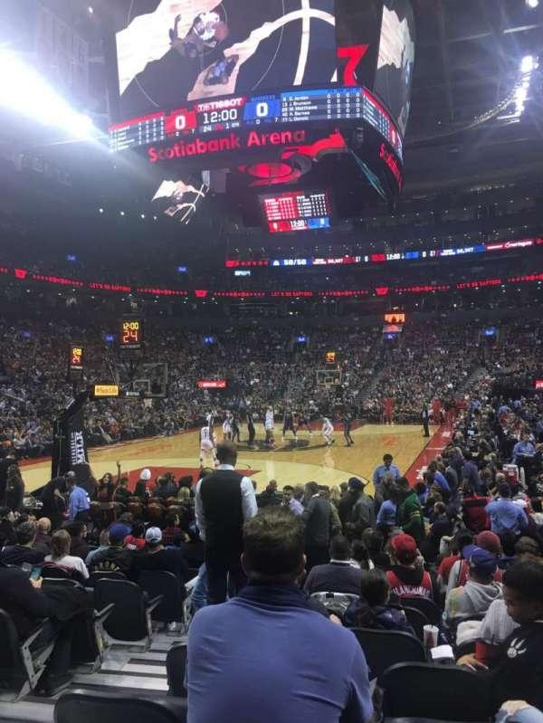 Scotiabank Arena, sección: 101, fila: 5, asiento: 9