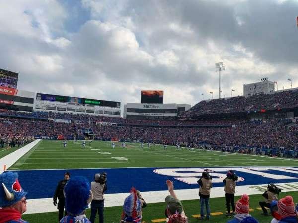 New Era Field, sección: 103, fila: 5, asiento: 4