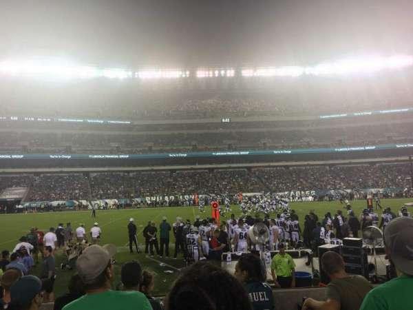 Lincoln Financial Field, sección: 138, fila: 5, asiento: 16,17