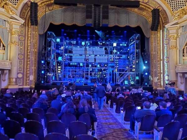 State Theatre Minneapolis, sección: 1, fila: S, asiento: 1