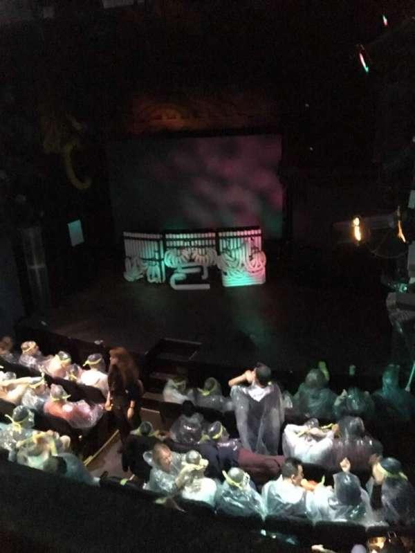 Astor Place Theatre, sección: Mezz, fila: A