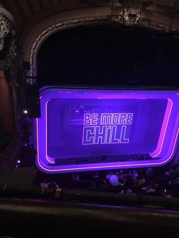 Lyceum Theatre (Broadway), sección: Balcony R, fila: A, asiento: 3