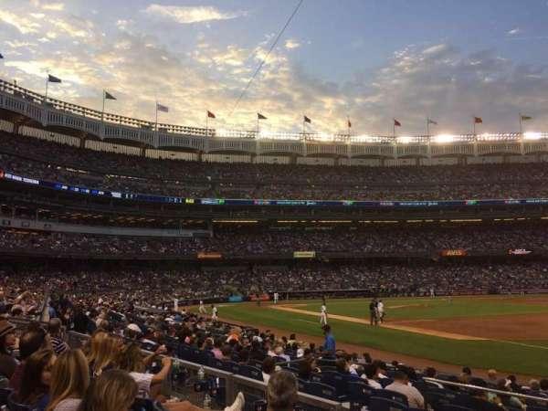 Yankee Stadium, sección: 112, fila: 14, asiento: 15